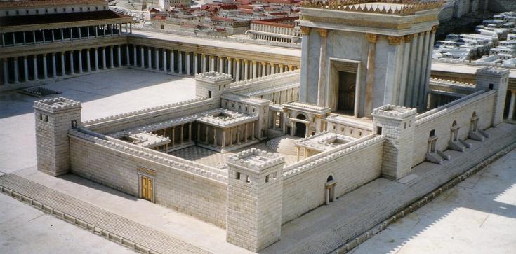 Żydzi zrekonstruowali Drugą Świątynię Jerozolimską - zdjęcie