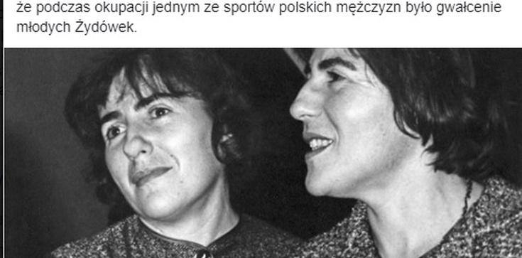 """A 'GW' znów swoje! 'Jednym ze sportów polskich mężczyzn było gwałcenie młodych Żydówek"""" - zdjęcie"""