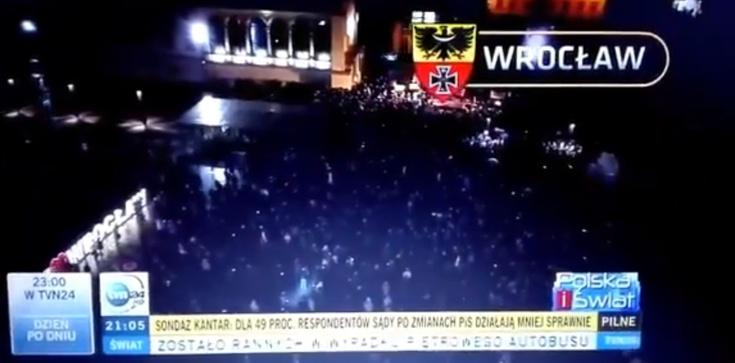 TVN i nazistowski herb Wrocławia - zdjęcie