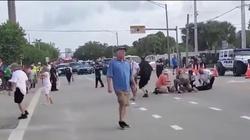 ,,Prawicowa przemoc''? Do wypadku w czasie parady na Florydzie doprowadził członek społeczności LGBT - miniaturka