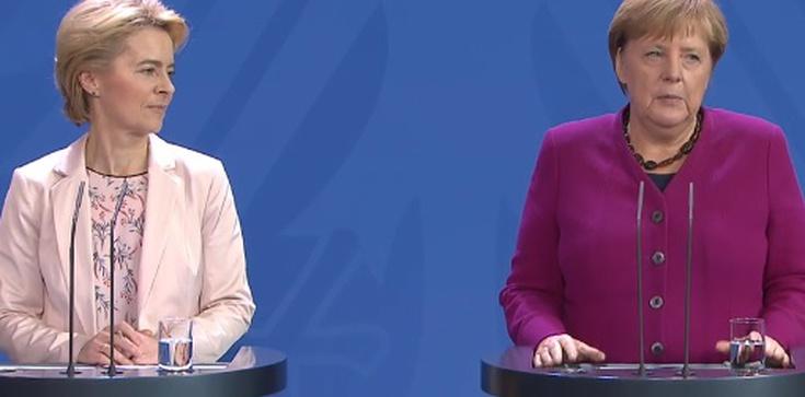 Wróci kwestia migracji? Von der Leyen spotkała się z Merkel - zdjęcie