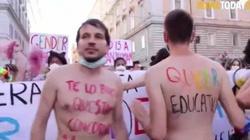 Bluźniercza parada LGBT przeszła przez Rzym, a papież… milczy - miniaturka