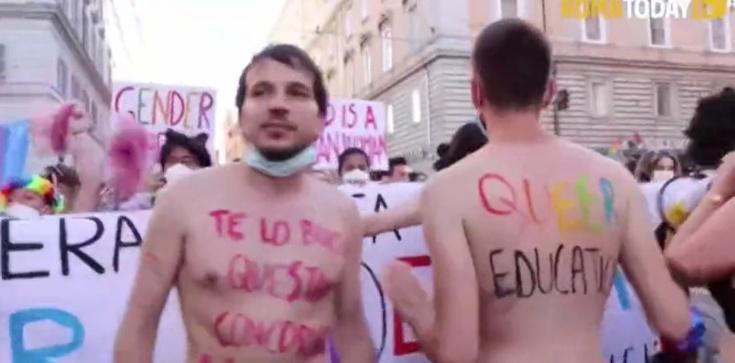 Bluźniercza parada LGBT przeszła przez Rzym, a papież… milczy - zdjęcie