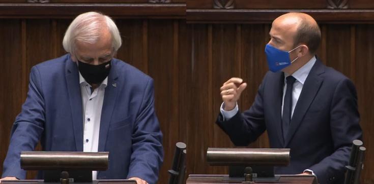 Terlecki ripostuje opozycję. ,,Wyjątkowo bezczelne wystąpienie Budki'' - zdjęcie