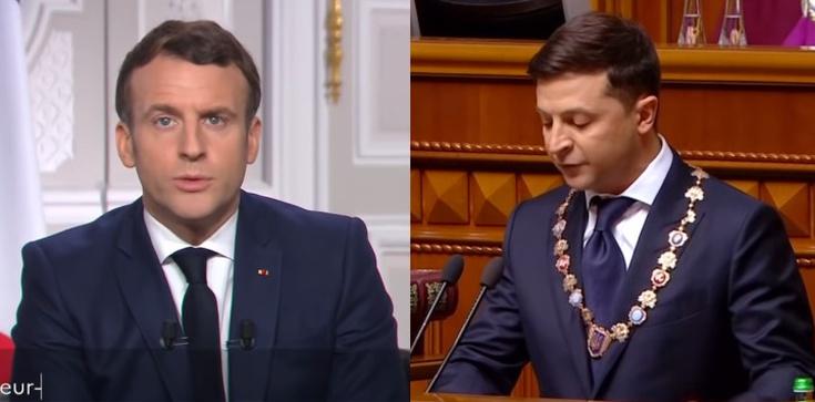 Macron dezerteruje? Francuskie media: Francja nie chce prowokować Moskwy - zdjęcie