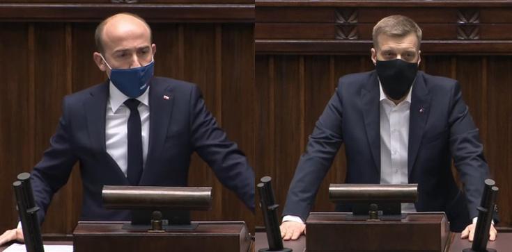 Budka w Sejmie atakuje Lewicę. Zandberg ripostuje: Marnujecie życie przyszłych pokoleń! - zdjęcie
