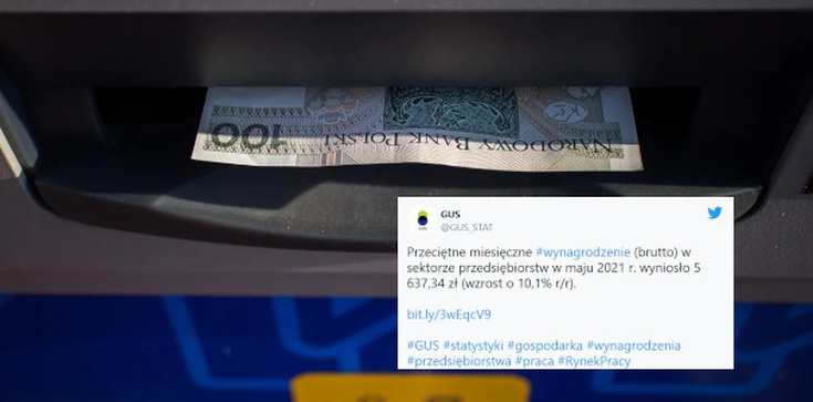 Polacy zarabiają coraz więcej! GUS ma dobre wieści dla pracowników  - zdjęcie
