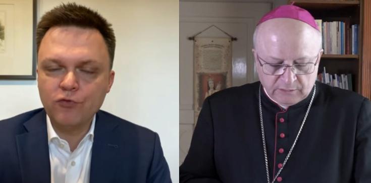 Hołownia atakuje biskupów: ,,Mają na sumieniu tych, którzy się nie zaszczepią'' - zdjęcie