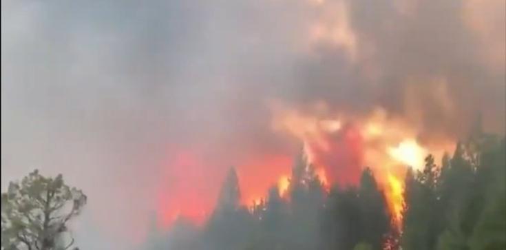 ,,Chmury ognia'' w stanie Oregon. Spłonęło już kilkaset domów - zdjęcie