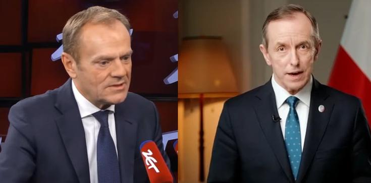 Tusk marszałkiem Senatu? ,,Grodzki łatwo skóry nie sprzeda'' - zdjęcie