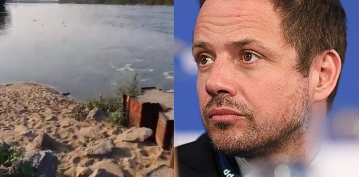 Katastrofa ekologiczna w Warszawie! Władze ukrywały awarię oczyszczalni ścieków? - zdjęcie