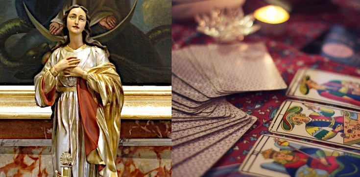 ,,Matka Boża wyrwała mnie z sideł okultyzmu'' - zdjęcie