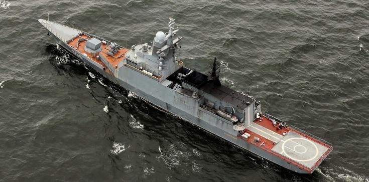 Rosyjski okręt naruszył wody terytorialne Polski? MON dementuje  - zdjęcie