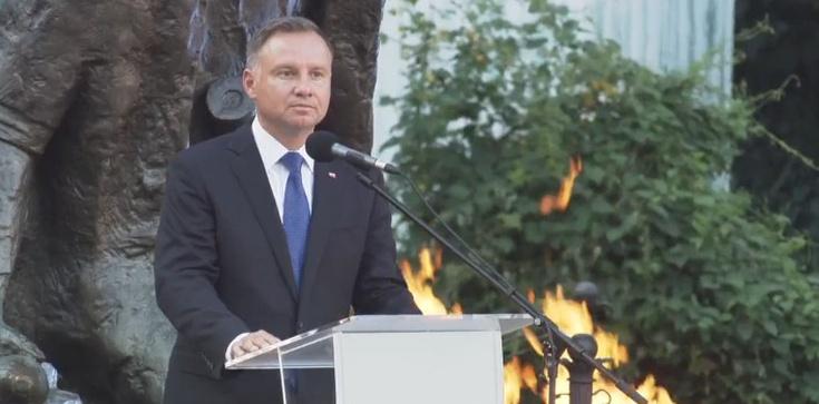Prezydent oddał cześć Powstańcom. ,,Wszystko zaryzykowali dla wolności'' - zdjęcie