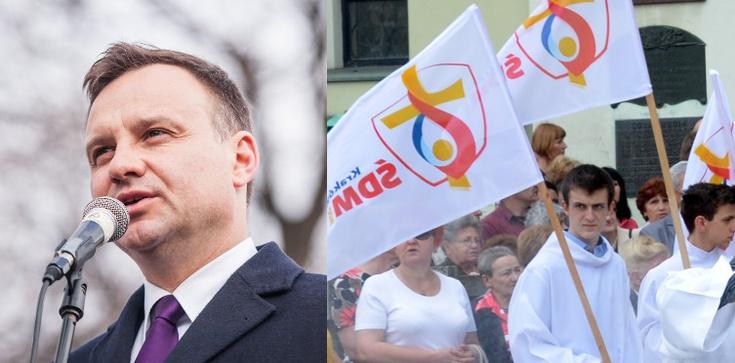 Prezydent Andrzej Duda podziękował za służbę podczas ŚDM - zdjęcie