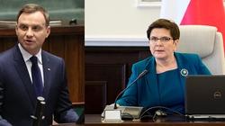 Prezydent Duda spotkał się z premier Szydło. Chodzi o szczyt UE - miniaturka