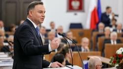 Andrzej Duda: Wstrzymuję nominacje sędziowskie - miniaturka