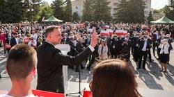 Prezydent Duda w Chełmie. Tłumy. Solidarność, wspólnota i odpowiedzialność za siebie nawzajem - miniaturka