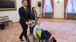 Ten chłopiec marzył, by spotkać się z prezydentem Andrzejem Dudą! - miniaturka