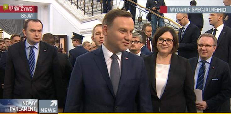 Prezydent Duda: Nie chcę oceniać wystąpienia Kopacz, Polacy są mądrzy, niech sami je ocenią. KLASA! - zdjęcie