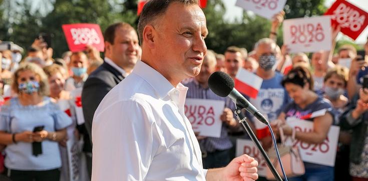 Prezydent Duda: ,,Polska rodzina to chłopak i dziewczyna. Małżeństwo to związek kobiety i mężczyzny'' - zdjęcie