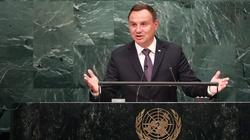 Prezydent weźmie udział w sesji Zgromadzenia Ogólnego ONZ - miniaturka