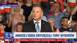 Prezydent Andrzej Duda: Ta przewaga jest potężna. Dziękuję! - miniaturka