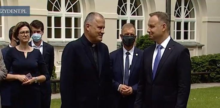 Prezydent na KUL: Jan Paweł II głosił tu słowa ważne dla wspólnoty i rodziny - zdjęcie