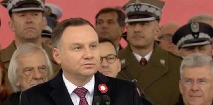 Andrzej Duda na 100-lecie niepodległości: Pan Bóg miał nas w opiece! - zdjęcie