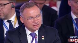 Prezydent Duda: Wolna suwerenna Ukraina to strategiczny interes Rzeczpospolitej - miniaturka
