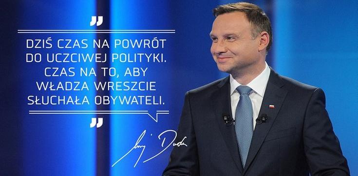 Punkty dla Dudy za dynamizm i obronę polskości! - zdjęcie