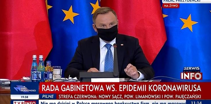 (Transmisja) Posiedzenie Rady Gabinetowej pod przewodnictwem prezydenta Dudy - zdjęcie