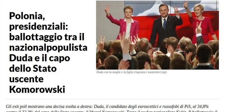 """Lubią Baumana, straszą """"nacjonalpopulistą"""" Dudą - zdjęcie"""