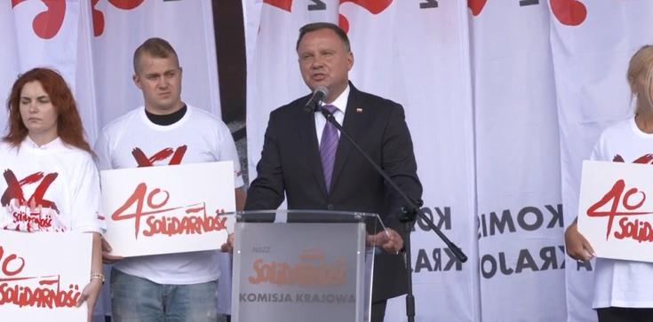 Prezydent: Wielkie nazwiska Solidarności: Walentynowicz, Wałęsa, Gwiazdowie, Wujec, Mazowiecki, Borusewicz, Wyszkowski - zdjęcie
