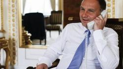 Riwlin dziękuje Dudzie. Telefoniczna rozmowa prezydentów Polski i Izraela - miniaturka