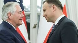 Tillerson w Belwederze. Rozpoczęło się spotkanie z prezydentem (ZDJĘCIA, WIDEO) - miniaturka