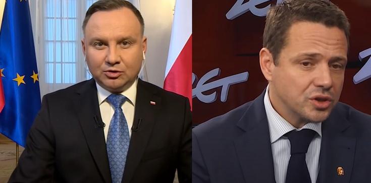 Nowy sondaż. Trzaskowski wygrywa z Dudą 2 pkt. proc. - zdjęcie