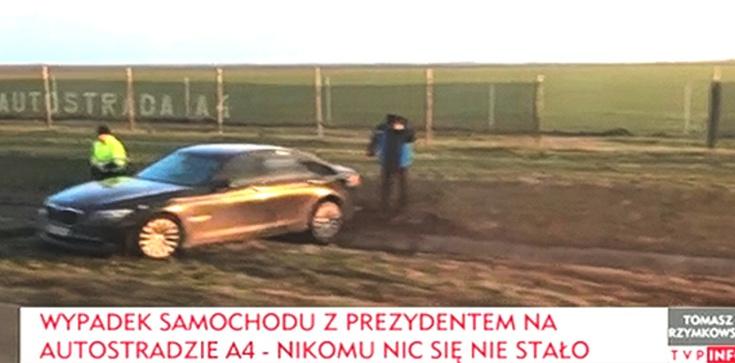 Nowe informacje ws wypadku prezydenckiego samochodu - zdjęcie