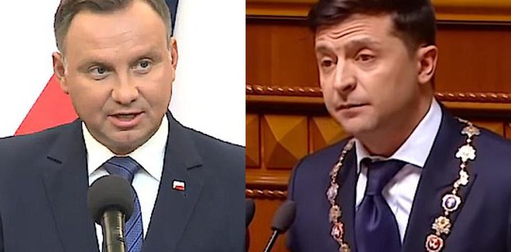Rosyjskie media: Zełenski stanął po stronie Warszawy - zdjęcie