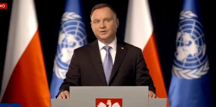 Prezydent: Polska walczy o świat bez dominacji - zdjęcie