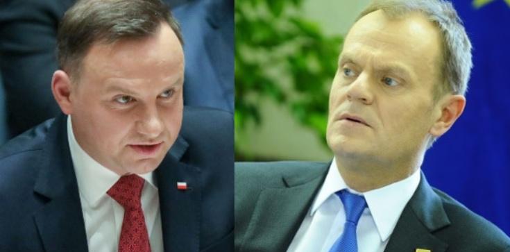 Sondaż prezydencki: Duda wygrywa z Tuskiem o włos - zdjęcie