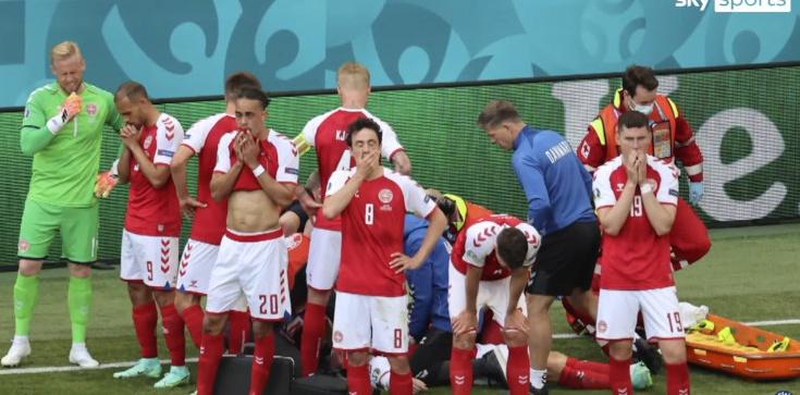 Resuscytacja w trakcie meczu Euro 2020. Piłkarz w szpitalu - zdjęcie