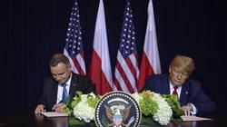 'Dowód wzajemnego szacunku i przyjaźni'. Jest wspólna deklaracja prezydentów Polski i USA - miniaturka