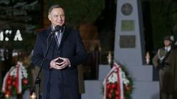 Prezydent: Przetrwaliśmy jako Polacy dzięki naszym wartościom - miniaturka