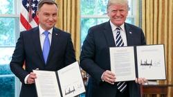 Amerykańskie media: Trump naprawdę lubi Andrzeja Dudę - miniaturka