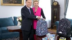 Para Prezydencka wsparła akcję Caritas Polska - miniaturka