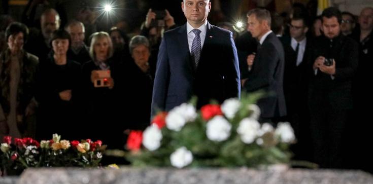 Prezydent: Ksiądz Jerzy patrzy dziś na nas z nieba i sprzyja Polsce - zdjęcie