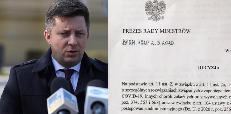 Dworczyk: Decyzja premiera dla Poczty w sprawie wyborów jest jasna - zdjęcie