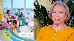 """[Wideo] Po udziale w programie TVN Bożena Dykiel przestała być ambasadorką """"Twarzy depresji"""". Powodem … kontrowersyjne stwierdzenia - miniaturka"""