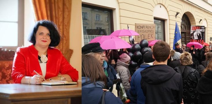 Barbara Dziuk dla Frondy: Spełnione kobiety nie chodzą na takie strajki - zdjęcie